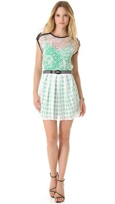 Nanette Lepore Just Dance dress. Perfect for spring.