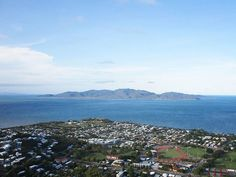 View of Magnetic Island from the Castle Hill, Townsville where Julian lived as a child Castle, Australia, Island, Mountains, Children, Artist, Travel, Block Island, Boys