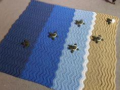 "Crochet ""turtle blanket"""
