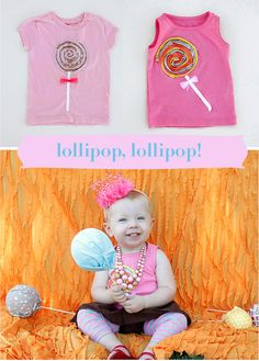 My youngest would adore this cute shirt.  Luckily, Disney of Ruffles and Stuff has included a tutorial. :)