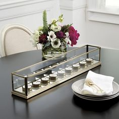 Where to buy dining table decor? Find stylish dining table decor and table accessories at Ballard Designs! Shop dining table centerpieces, dining room table decor, kitchen decor and more! Buy Dining Table, Dining Room Table Centerpieces, Centerpiece Ideas, Best Candles, White Candles, Soy Candles, Cottage Dining Rooms, Living Room, Mercury Glass Candle Holders