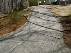 cobble apron - example photo of driveway details around Atlanta