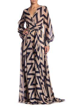 Floral Print Wrap Maxi Dress by Meghan LA on Cute Maxi Dress, Maxi Wrap Dress, Dress Skirt, Waist Skirt, Maxi Blazer, Arab Fashion, Long Sleeve Maxi, Nordstrom Dresses, Classy Outfits