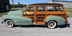1947 Oldsmobile Model 66 station wagon