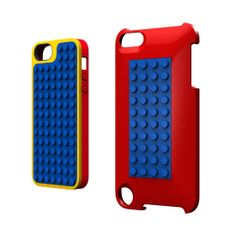 For iPhone AND iPod Touch!! Perfect for S  First Look Belkin + Lego's New Buildable iPhone Cases: Belkin's Lego case for iPhone, available this Spring, is shown here in three colors.