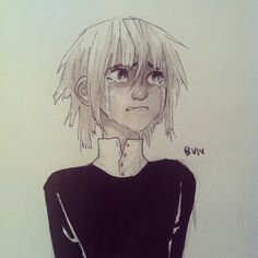 Crona for #inktober because I'm already behind #souleater