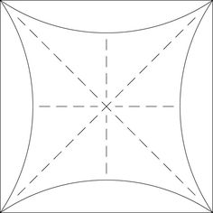 """This is the newest addition to my designing stencils collection...The Ultimate Shape!  It consists of a square surrounded by four arches and includes horizontal, vertical and diagonal lines.  This comes as a set of four stencils in 8"""", 6"""", 4"""" and 2"""" sizes.  You can use any and all """"parts"""" of this stencil to create an unlimited number of designs.  This Pinterest Page will provide inspiration for what YOU can create!"""
