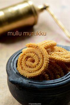 Mullu Murukku (Omam Murukku)