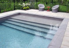 Having a pool sounds awesome especially if you are working with the best backyard pool landscaping ideas there is. How you design a proper backyard with a pool matters. Backyard Pool Landscaping, Backyard Pool Designs, Small Backyard Pools, Swimming Pools Backyard, Swimming Pool Designs, Pool Fence, Patio Design, Patio Steps, Diy Patio
