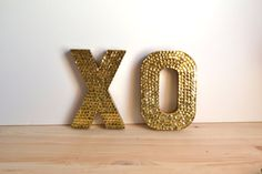 wedding accessories bridal style inspiration sequin gold XO signs and Reception, and Accessories, Styles, and Fashion, Accessories Saint Valentine, Happy Valentines Day, Funny Valentine, Gold Sequins, Bridal Accessories, Bridal Style, Sparkle, Crafty, Mini