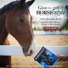 #ClippedOnIssuu from 2014 Horse & Style Holiday Guide to Equestrian Style