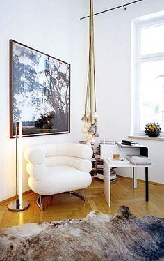 Eileen Gray. Esempio di casa, che guarda particolarmente al design, in cui posizionare un mio tappeto.