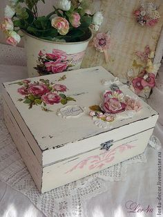 "Caskets handmade.  Fair Masters - handmade box for future princess ""Agnes"" Sold.  Handmade."