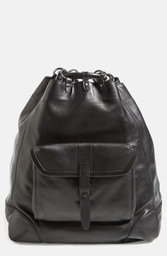 Street style drawstring backpack from rag & bone