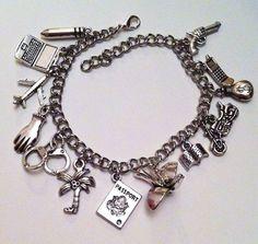 Prison Break Charm Bracelet by LoveForAchilles on Etsy