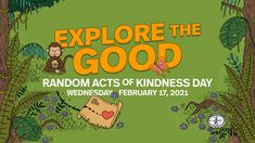 Join the kindness movement this #RAKDay and #RAKWeek! 👇 In 2021, we encourage everyone to Explore the Good and Make Kindness the Norm for Random Acts of Kindness Day. On our website is a handy participant toolkit that contains everything to need for a fun week Driving Teen, Fun To Be One, How To Make, Good Deeds, Printable Coloring Pages, Leadership, Random Acts, Acting, Encouragement