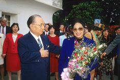 """A great human revolution in just a single individual...will enable a change in the destiny of all humankind."" Daisaku Ikeda with Rosa Parks, pioneer of the American civil rights movement (Los Angeles, January 1993)"