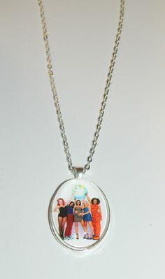The Spice Girls  Glass Pendant Necklace by PrettyInPInkToon, $10.00
