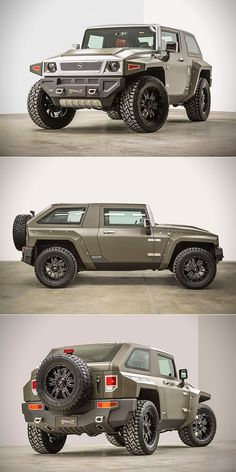 Rhino XT USSV is a Military-Grade Jeep Wrangler Unlimited, Complete with Turbocharged Engine Jeep Cars, Jeep 4x4, Jeep Truck, Jeep Wrangler Unlimited, Jeep Wranglers, Cool Jeeps, Cool Trucks, Custom Jeep, Custom Cars