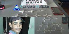 Polícia Militar continua  a faxina no tráfico e apreende mais  drogas em Campos Gerais-MG