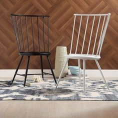 Shop for Truman High Back Windsor Classic Side Chair by MID-CENTURY LIVING (Set of 2). Get free shipping at Overstock.com - Your Online Furniture Outlet Store! Get 5% in rewards with Club O!