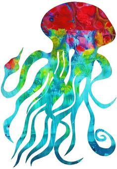 Nursery Art Children Print Wall Decor Ocean by KathyPanton on Etsy, $16.00