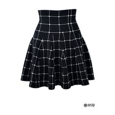 The skirt featuring plaid pattern.  Elasticized waist.  Pair it with a sweatshirt and a high heels from OASAP is a perfect choice for your outfit.  Add a cross…