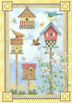 debbie mumm birdhouses for every season - Buscar con Google