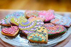 Henna Decorated Cookies by Big Fat Indian Wedding-3