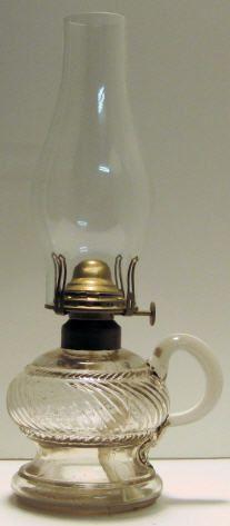 nice little finger oil lamp
