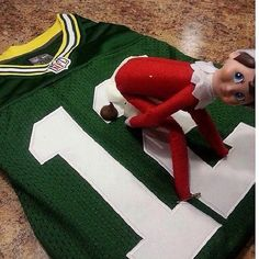 Dana - don't you have some chocolate kisses?  Naughty Elf on the Shelf Pictures   POPSUGAR Love & Sex