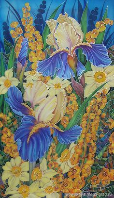 МегаГрад, handmade картины с цветами - Весна, Александра Львовская