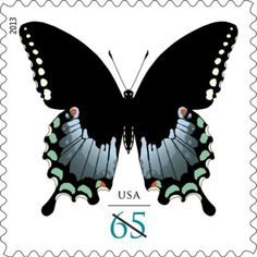 U.S. Post Office launches Spicebush Swallowtail Butterfly stamp