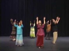 Messianic Dance Blessed Are You, with steps From Teach Your Feet #6 - YouTube
