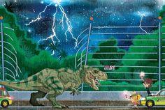 Fantastical Jurassic Art #JurassicWorld