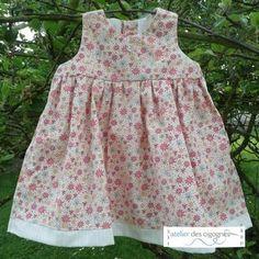 patron gratuit robe bebe 18 mois