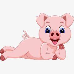 Kitten Drawing, Pig Drawing, Easy Disney Drawings, Pig Wallpaper, Happy Pig, Pig Crafts, Small Pigs, Pig Illustration, Pig Art