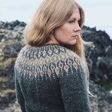 Ravelry: Telja pattern by Jennifer Steingass Jumper Patterns, Knitting Patterns, Icelandic Sweaters, Knit In The Round, Knitting Wool, Sweater Design, Knit Or Crochet, Ravelry, Free Pattern
