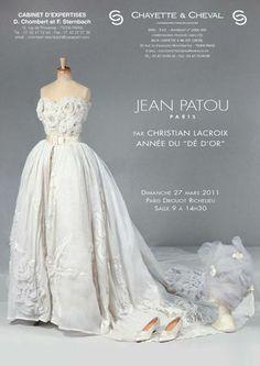 Catalogue of the Drouot sale, Jean Patou par Christian Lacroix
