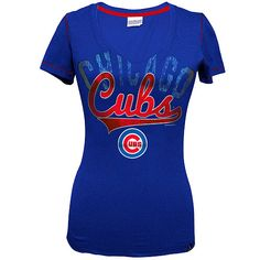 Chicago Cubs Baby Jersey V-Neck by 5th & Ocean $24.95  @Chicago Cubs