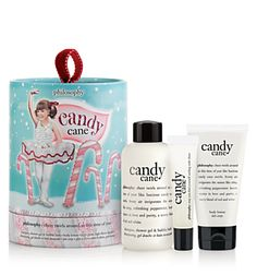 candy cane lane  candy cane shampoo, shower gel & bubble bath; body lotion; and high-gloss, high-flavor lip shine $22