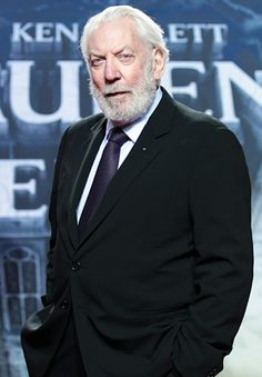 Donald Sutherland, there's just no one like him.