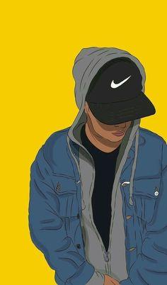 Cartoon Rap Wallpapers Wallpaper Cave intended for Cartoon Drawing Wallpapers Nike Wallpaper, Boys Wallpaper, Tumblr Wallpaper, Black Wallpaper, Screen Wallpaper, Cartoon Wallpaper, Wallpaper Backgrounds, Iphone Wallpaper, Minimal Wallpaper