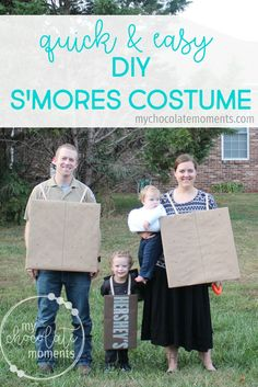 DIY s'mores costume