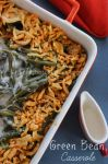 Traditional Green Bean Casserole - Raining Hot Coupons