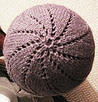 nautilus--worked top down.  Great for when you're not sure if you have enough yarn.