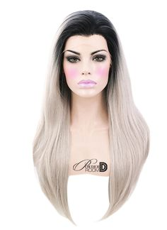 Touch Of Ash Lace Front Wig / Powder Room D