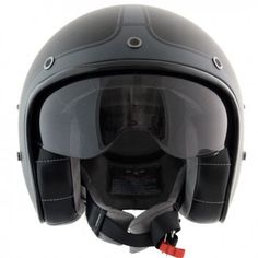 Casco Harisson corsair negro y antracita