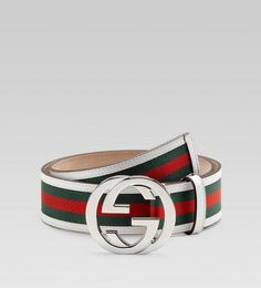Gucci Belt White