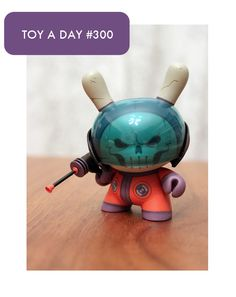 The Dead Astronaut  Dunny 2012  by Pac23